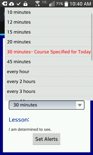Screenshot for ACIM Alerts with Workbook in United States Play Store
