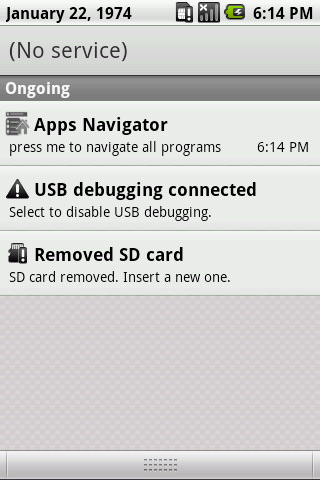 Application Navigator - screenshot