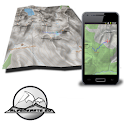 FIEMME mountain range map icon