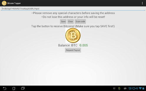 Bitcoin Tapper - screenshot thumbnail