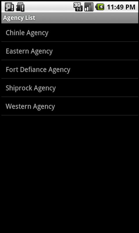 Navajo Chapter Houses: Phones screenshot #6