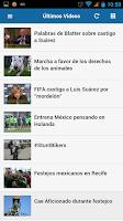 Screenshot of El Mexicano