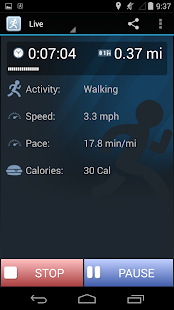 JogTracker- screenshot thumbnail