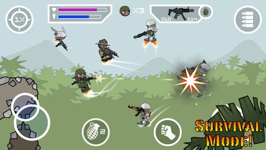 Doodle Army 2 : Mini Militia v2.2.107 [Mod]