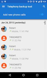Telephony Backup (Calls & SMS) Pro v1.14.81 Cracked APK 1