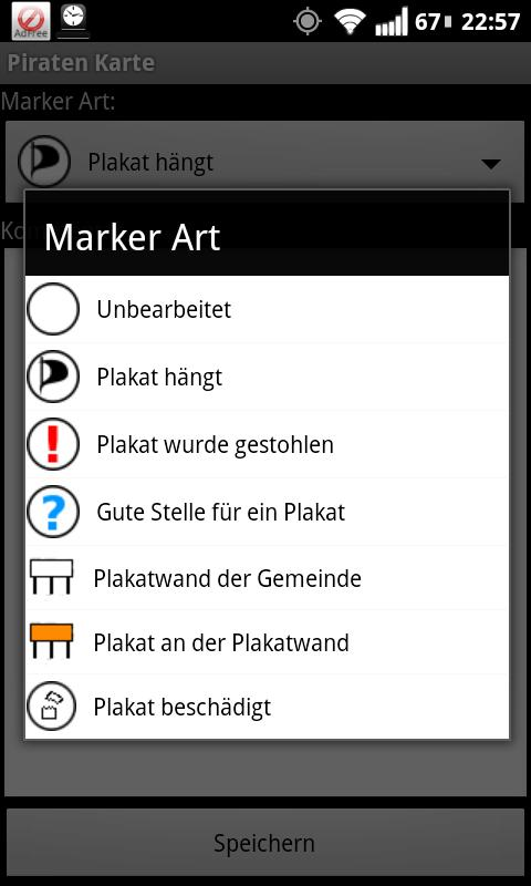 piraten karte android apps auf google play. Black Bedroom Furniture Sets. Home Design Ideas