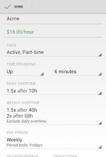 Hours Tracker - Time Tracking 玩商業App免費 玩APPs