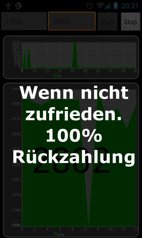 RC Tachometer - True RPM - screenshot