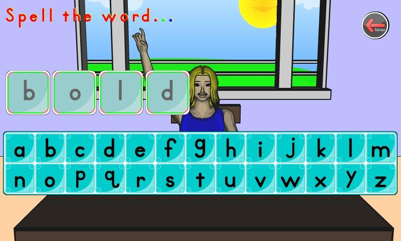 100 Plus Kids Phonics Words- screenshot