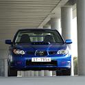 Subaru Impreza WRX Wallpaper logo