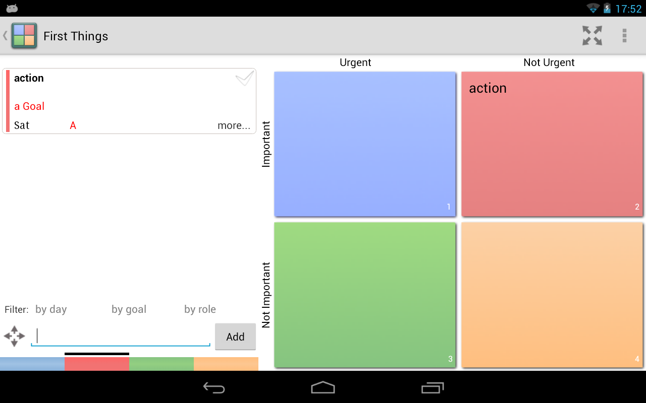 (M. E.) Habits To-do Tasks GTD - screenshot