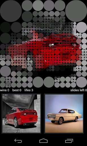 Dodge Charger Guess Game