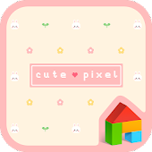 cute pixel dodol theme