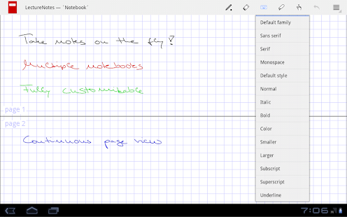LectureNotes - screenshot thumbnail