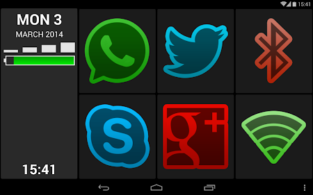 BIG Launcher Easy Phone DEMO 2.5.7 screenshot 446481