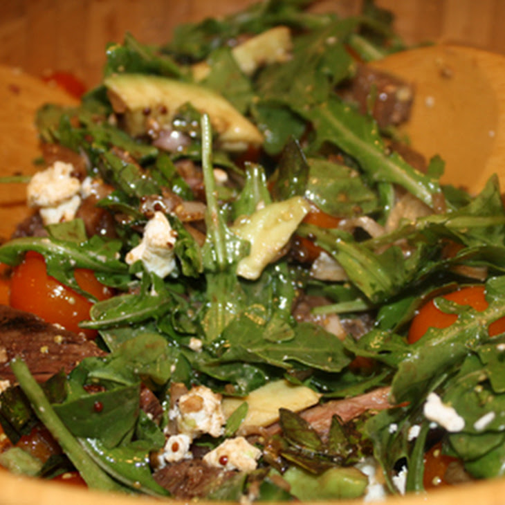 Grilled Skirt Steak Salad