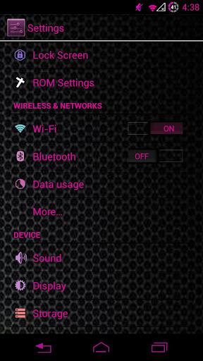 玩個人化App|YGX CM10 PinK Theme免費|APP試玩
