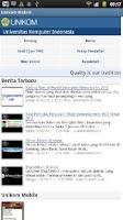 Screenshot of Unikom Mobile
