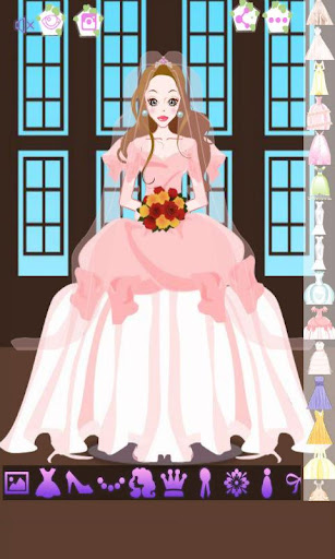 寶莉姐姐挑婚紗