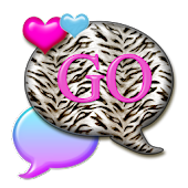 GO SMS THEME/BubbleGumTiger4U