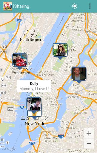 iSharing : 友人の場所検索 位置情報追跡 家族安全