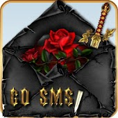 GOSMS/POPUP THEME Goth Hearts