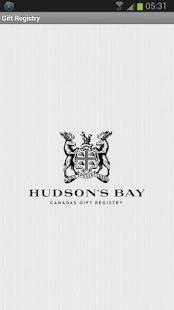 Hudson's Bay Gift Registry - screenshot thumbnail