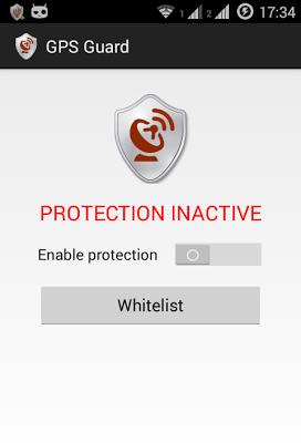 GPS Guard - screenshot