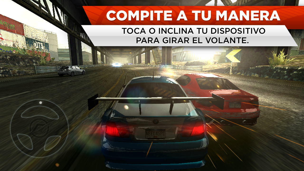 Need for Speed™ Most Wanted: captura de pantalla