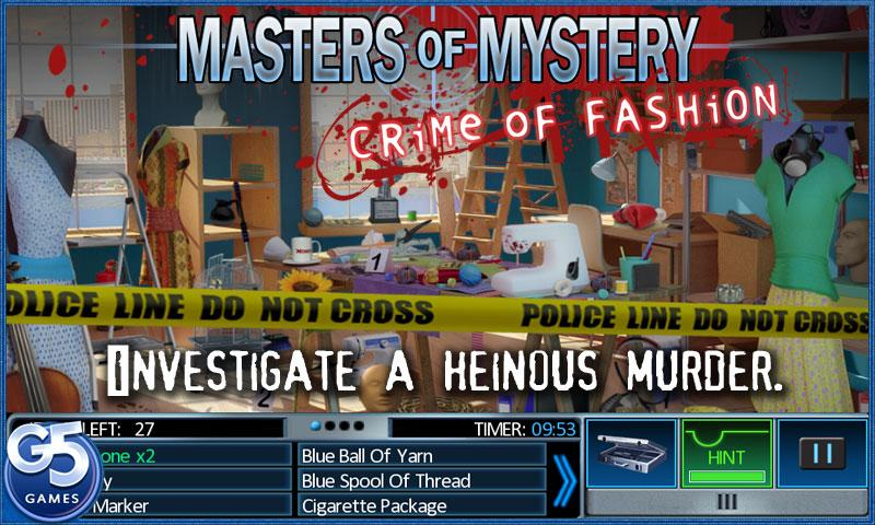 Masters of Mystery - screenshot