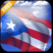3D Puerto Rico Flag Live Wallpaper