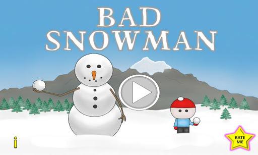 【免費街機App】Bad Snowman-APP點子