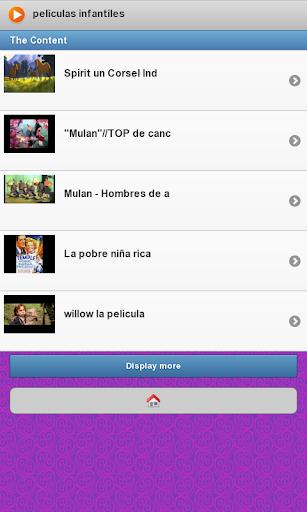 【免費媒體與影片App】Peliculas Infantiles-APP點子