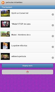 玩免費媒體與影片APP|下載Peliculas Infantiles app不用錢|硬是要APP
