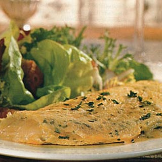 Gruyère and Parsley Omelets