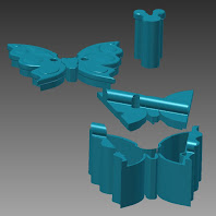 Butterfly CR Jewelry  Box