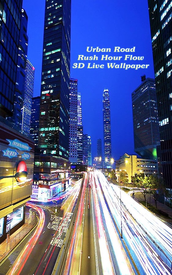 Urban Road Rush Hour Flow 3D- screenshot