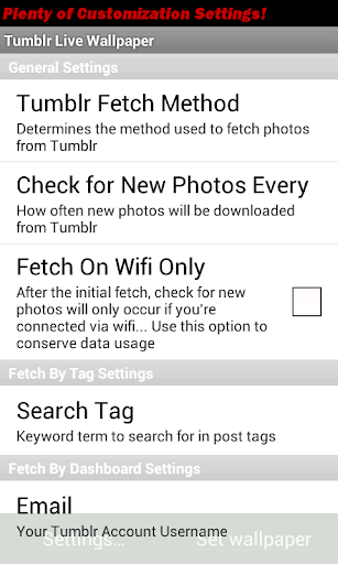 Pic Search Live Wallpaper Full