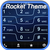 RocketDial Razr Blue Theme