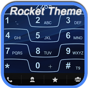 RocketDial Razr Blue Theme APK Cracked Download