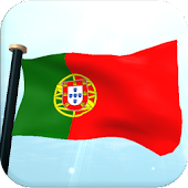 Portugal Flag 3D Wallpaper Icon