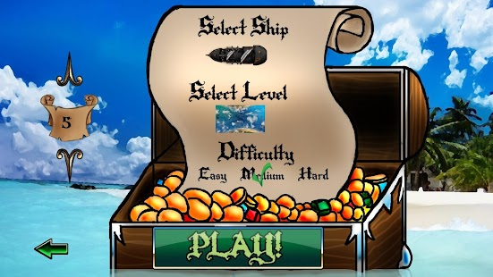Super Pirate Paddle Battle F2P - screenshot thumbnail