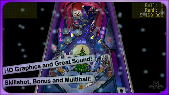 Xmas Pinball - screenshot thumbnail