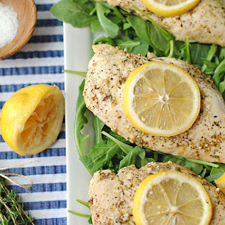 Lemon Chicken with Thyme.