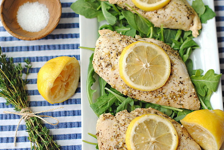 Lemon Chicken with Thyme Recipe
