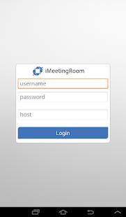 iMeetingRoom - náhled