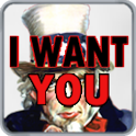 I WANT YOU Uncle Sam icon