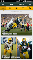 Screenshot of Official Green Bay Packers