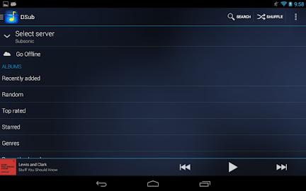 DSub for Subsonic Screenshot 12