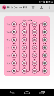 Birth Control Pill Alarm- screenshot thumbnail